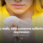 how to help someone who is suffering from depression