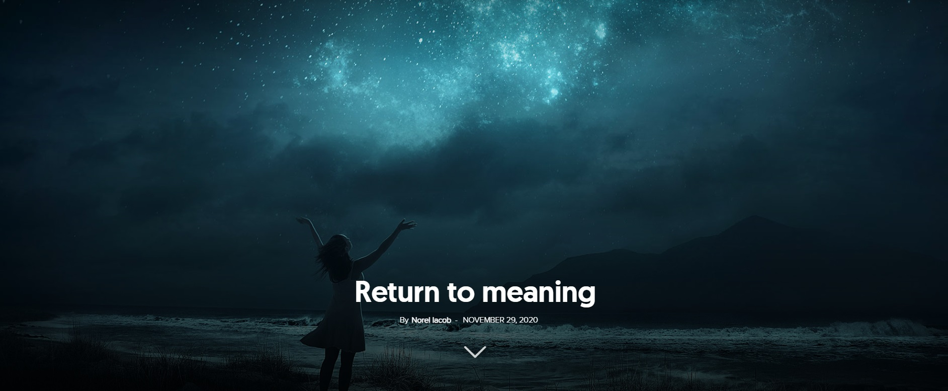absence return to meaning