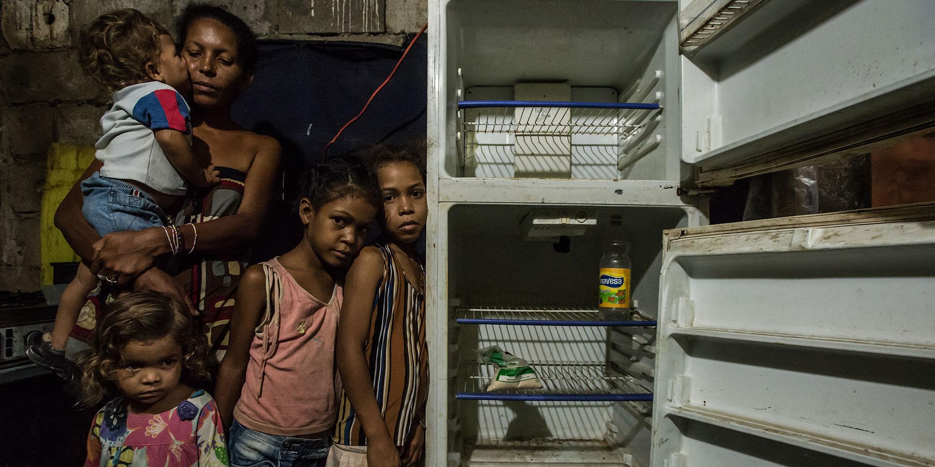 venezuela hunger tragedies