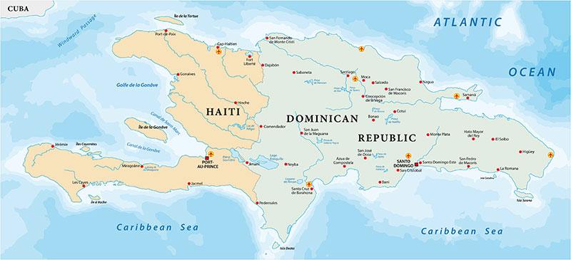 haiti earthquake 2021 map