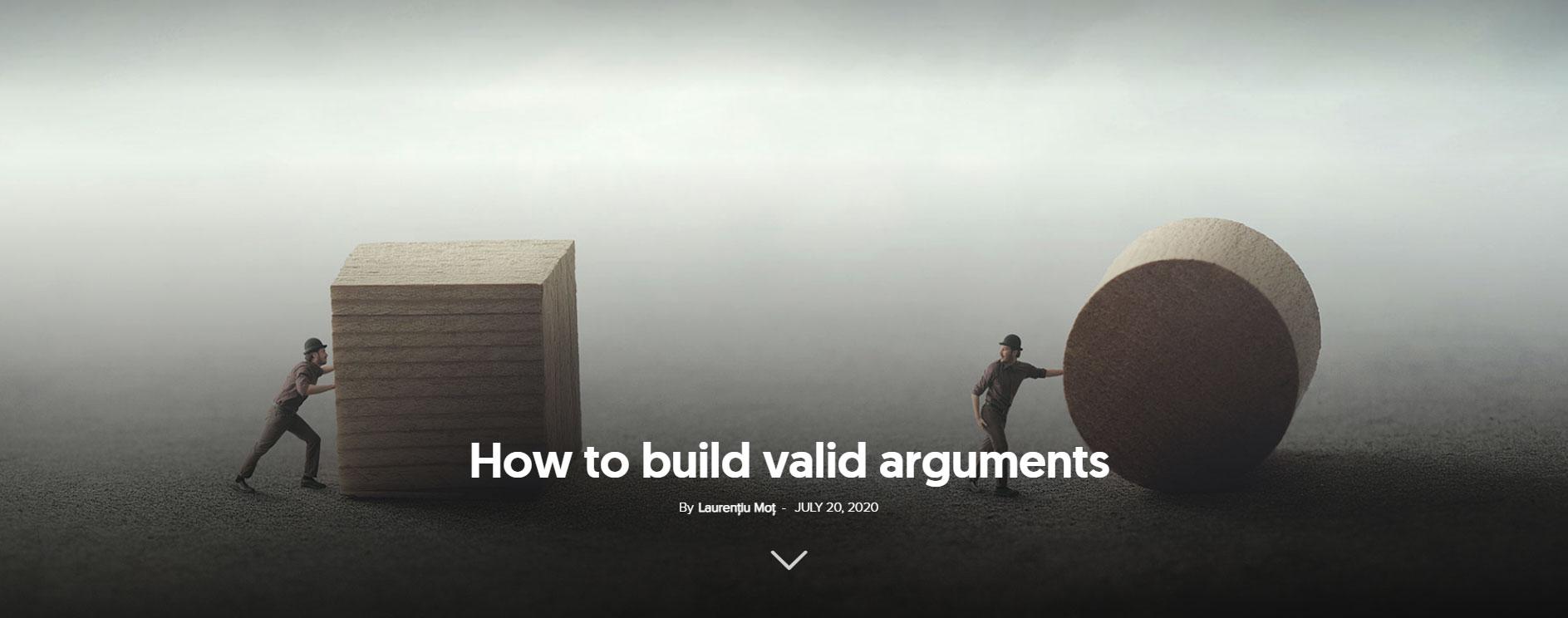 lose an argument